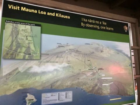 2018ハワイ ハワイ島 ツアー 火山公園