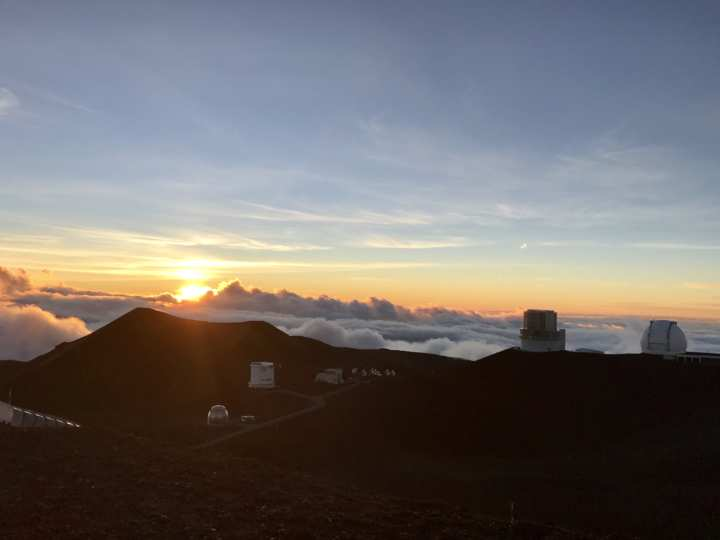 2018ハワイ ハワイ島 マウナケア山頂