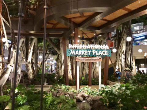 2018ハワイ ホノルル ワイキキ インターナショナルマーケットプレイス