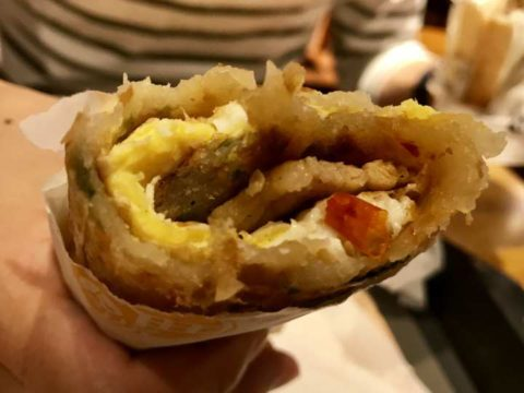 2018台湾 台北 サンドイッチ