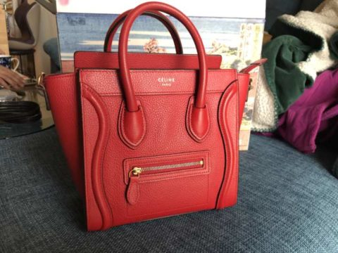 CELINE_ナノショッパーRED
