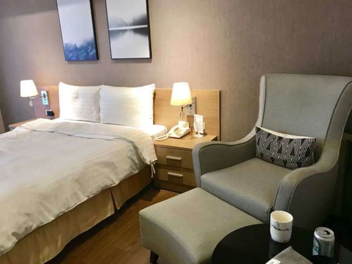 2018台湾 台北駅 ニッコービジネスホテル