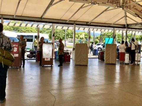 2018ハワイ ハワイ島 コナ空港 送迎