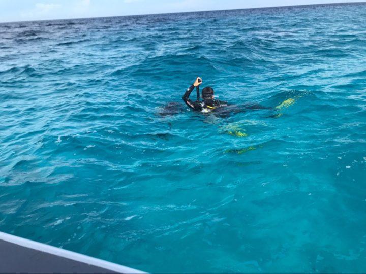 バリカサグ島でいざダイビング!