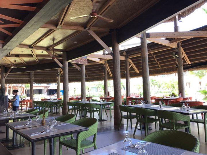ベルビューリゾート・オープンエアのレストラン