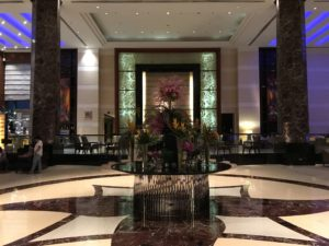 2017cebu_ラディソンブルホテル ロビー