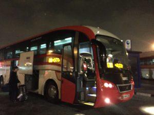 2017UAEドバイ イブンバトゥータモール グランドモスク バス