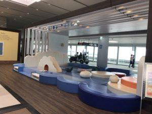 2018cebu_成田空港ターミナル2 キッズパークの様子