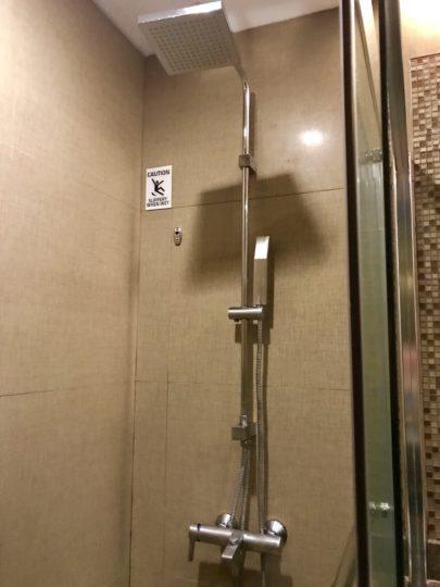 2018cebu_ベイフロントホテル シャワー