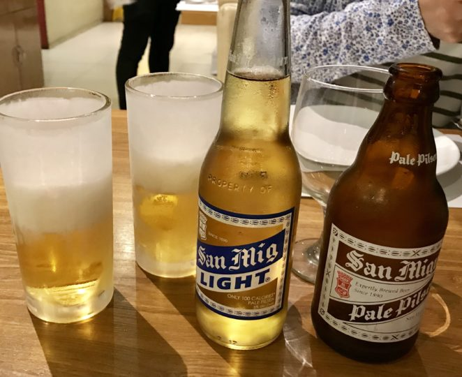2018cebu_SMモール「KUYA J」San Miguel - Light, Pale Pisen