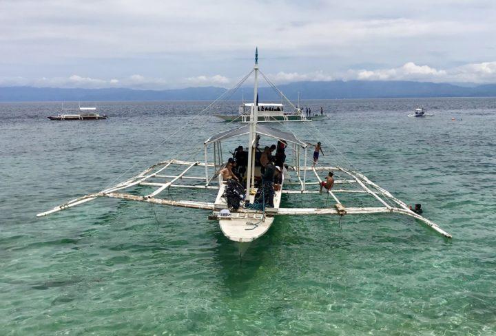 2018cebu_Moal Boal ダイビングボート