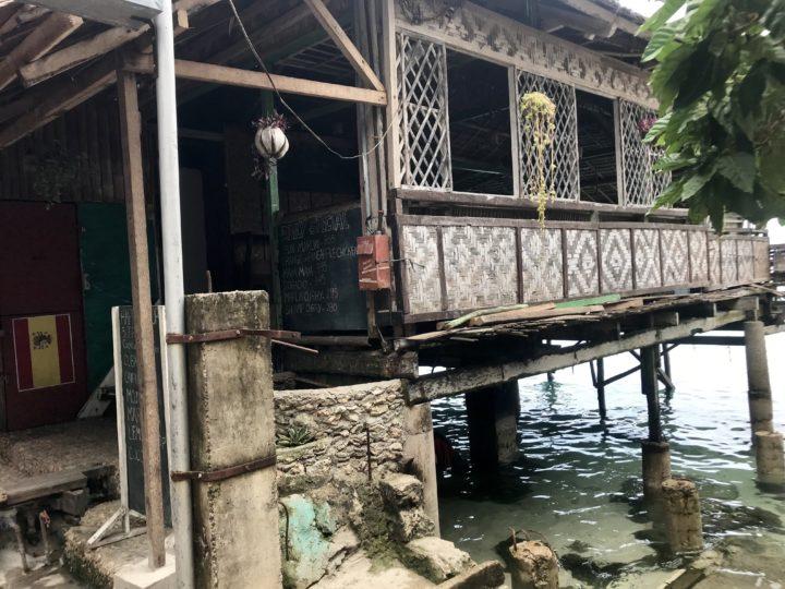 2018cebu_Moal Boal レストラン「Cocko Nats」海の上に建つ