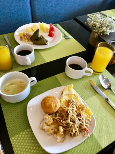 2018cebu ベイフロントホテル 朝食 ブッフェ