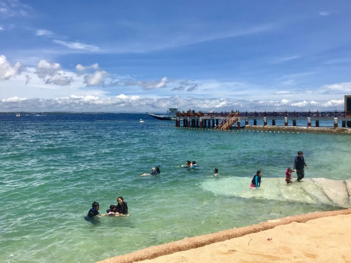 2018cebu_Jpark 海 ビーチ