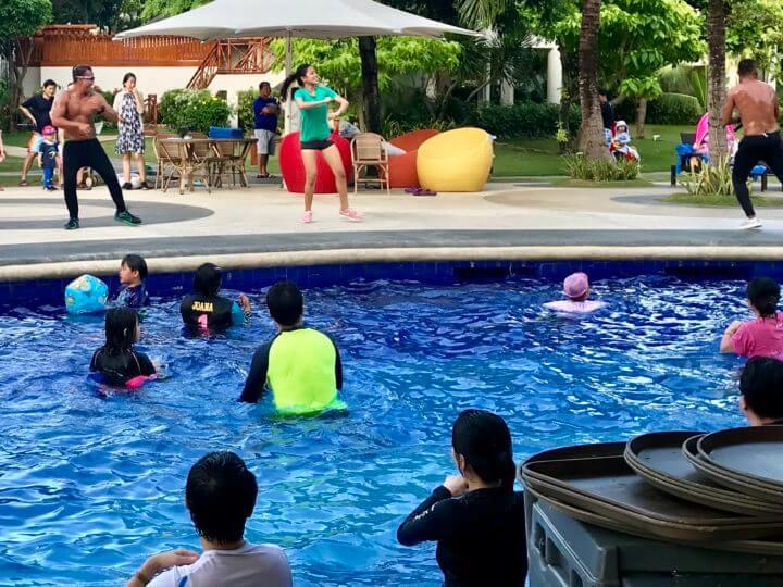 2018cebu_Jpark プール イベント