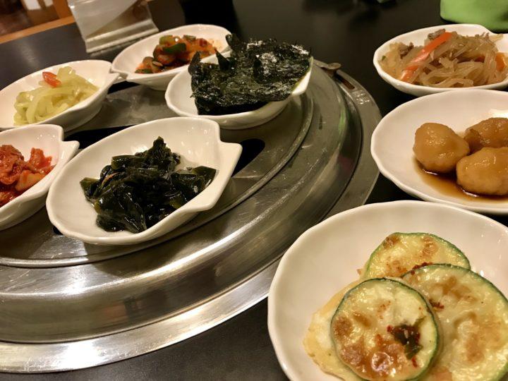 2018cebu_Jpark 韓国料理Maru 前菜