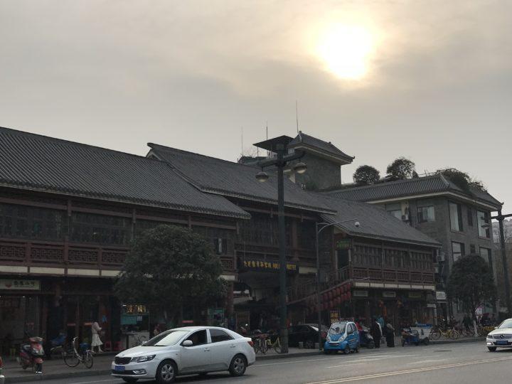 2018成都 中心 街の様子2