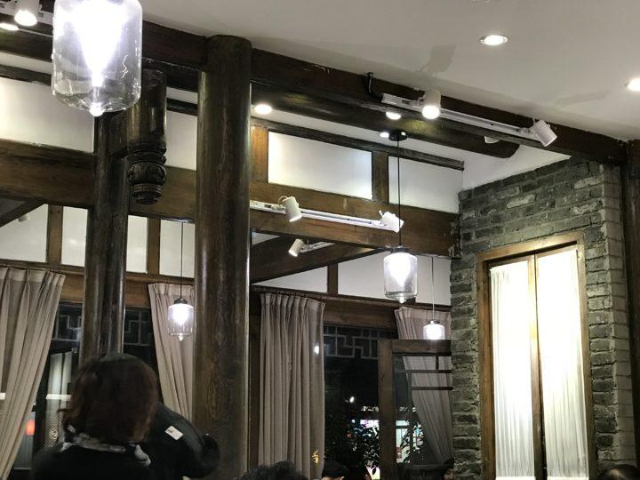 2018成都 寛窄巷子 四川料理店 店内