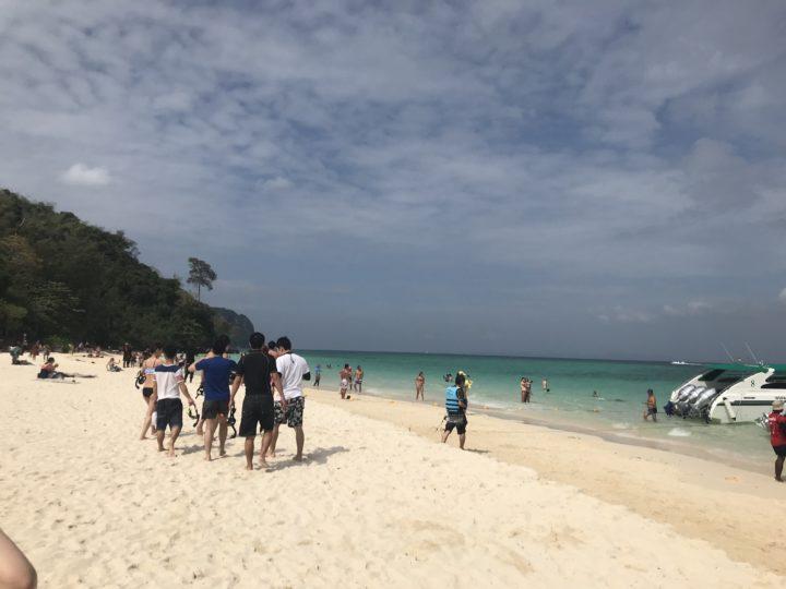 2018PKT ピピ島 ツアー バンブービーチ7