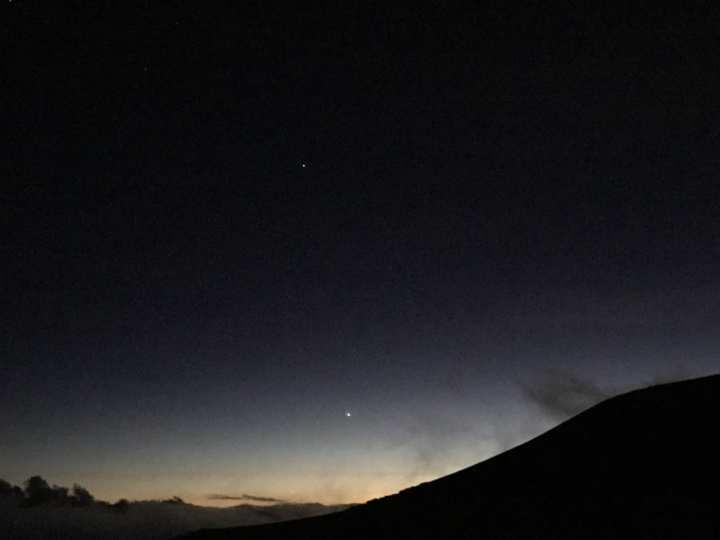 2018ハワイ ハワイ島 ツアー 星空観測