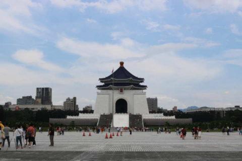 2018台湾 台北 中正記念堂