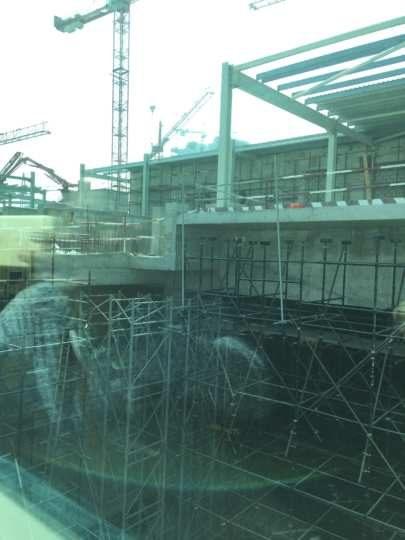 2017UAEドバイ パームジュメイラ 建設中