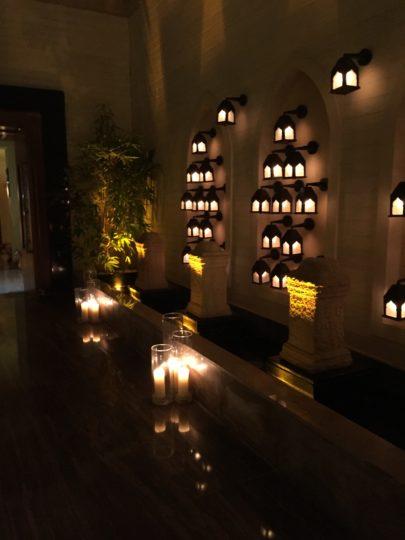 2017UAEドバイ パレスホテル「Thiptara」エントランスロビー