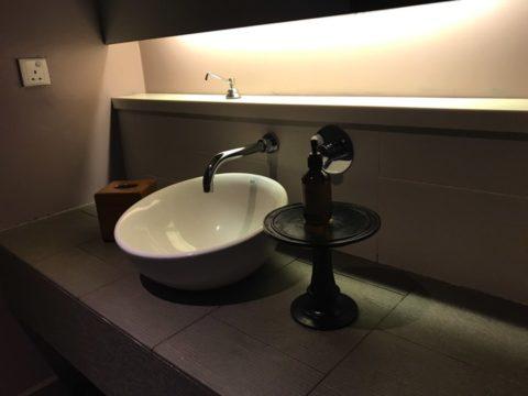 KualaLumpur_MandaraSpa_マンダラスパのマッサージルームには洗面所も備えつきでした