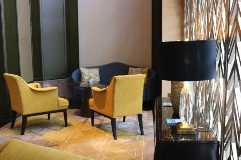 KualaLumpur_MandaraSpa_マンダラスパのあるリッツカールトンホテルの待合室