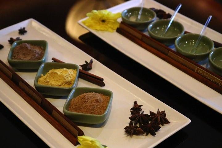 MandaraSpa_マンダラスパでは最初にオイルの種類などを選べます