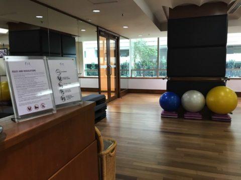 Pullman_プルマンホテルのトレーニングルーム