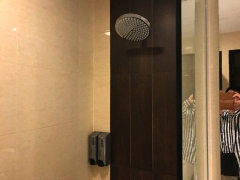 SamaSamaExpressのシャワーの様子