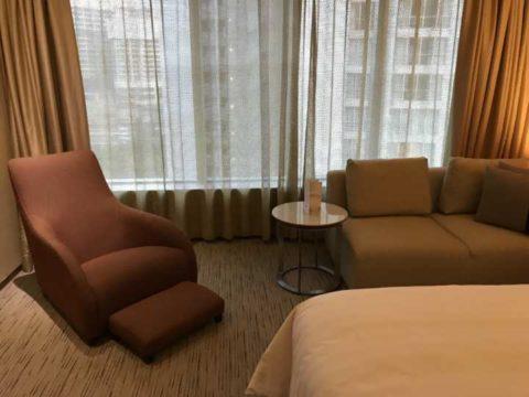 TradersHotel(トレイダーズホテル)で停まった部屋の様子