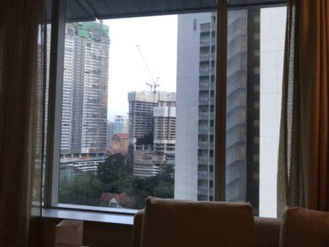 TradersHotel(トレイダーズホテル)の客室から見える様子