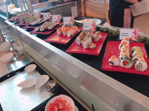 日本料理も置いてあります