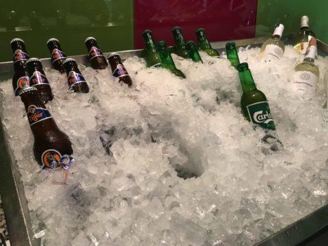 TradersHotel(トレイダーズホテル)のプレミアムラウンジではビールも楽しめます