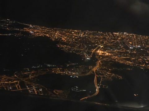 エアチャイナ 上海浦東 バルセロナ