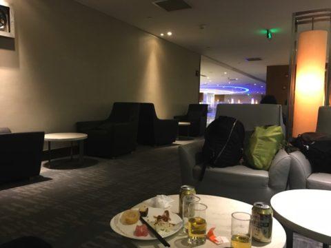 エアチャイナ 上海 空港 ラウンジ