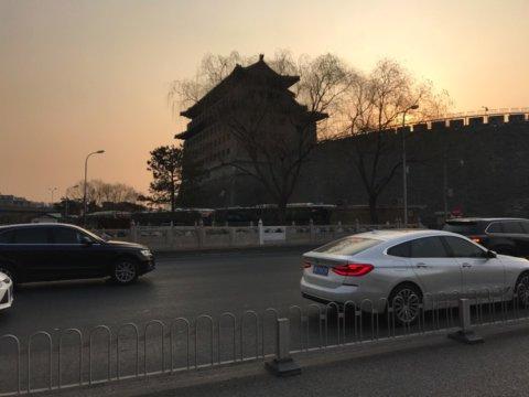 北京 万里長城 アクセス バス