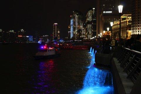 上海外灘の夜景